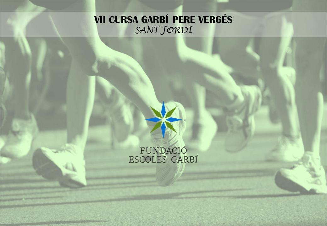 VII CURSA DE SANT JORDI - GARBÍ PERE VERGÉS (Curs 2017-2018).