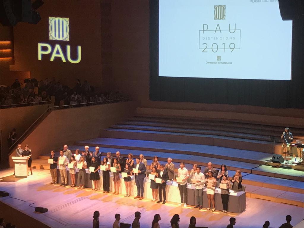 Distincions PAU 2019
